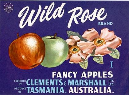 tasmanian-apple-label-wildrose-brand