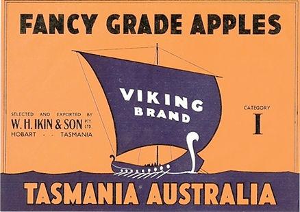 Tasmanian-apple-label-viking-brand