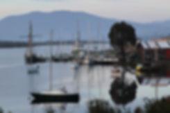 Franklin Tasmania Wharf on the Huon River