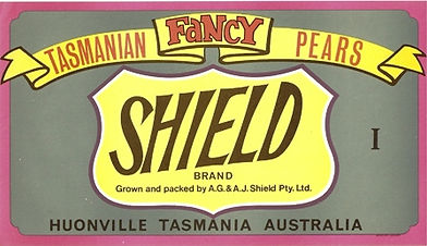 Tasmanian-pear-labels-shield