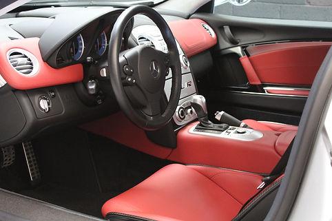 McLaren Mercedes SLR Interior