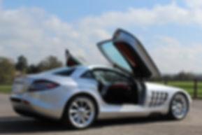 McLaren Mercedes SLR Gullwing Doors