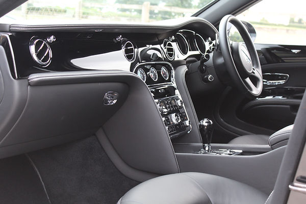 Bentley Mulsanne Interior Deep Cleaning