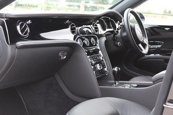 Bentley Mulsanne Interior Deep Cleaning