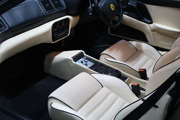 Ferrari 355 F1 Spider Interior Cleaning