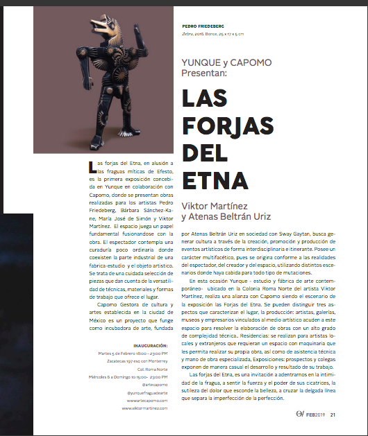 Yunque y Capomo Presenta: Las Forjas Del Etna