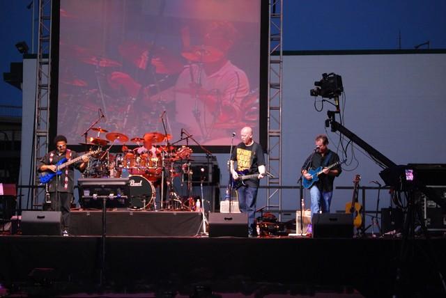 In concert...