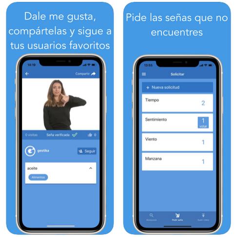 GESTIKA: Wiki Diccionario de la lengua de señas.
