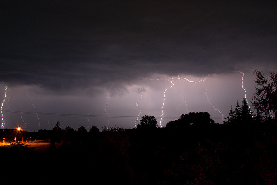 Marco Wichert Fotografie Berlin - Blitze in der Nacht