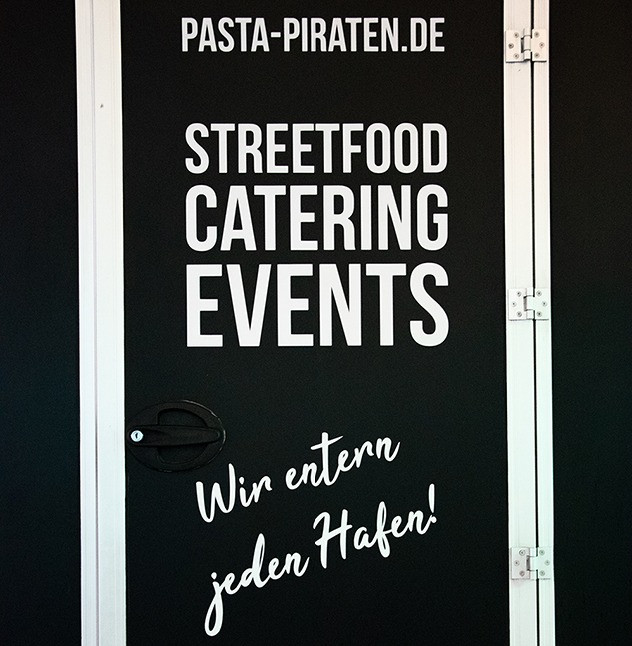 Food Art Company Logo Pasta Piraten