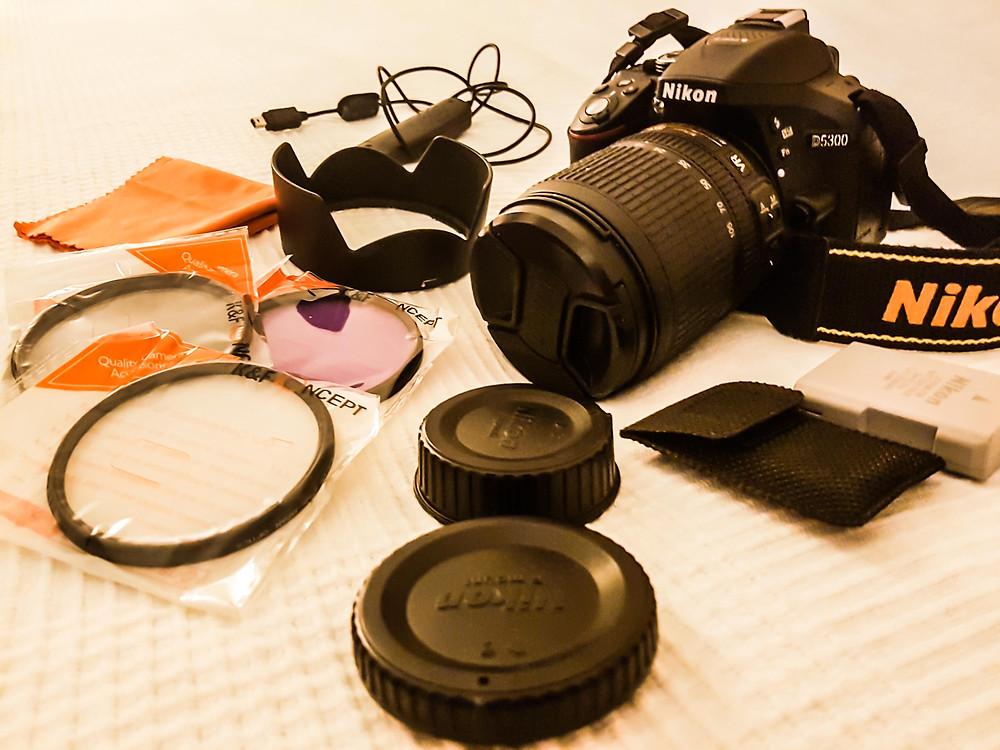 MWI Fotografie - Aufbau Fotokurs Vorbereitung
