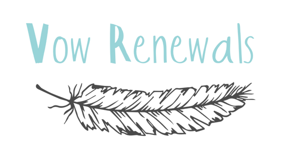 vow renewal, words, darwin, feathe