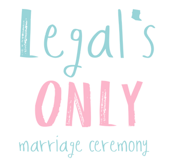 legal only marriage ceremony, text