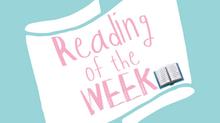 Wedding reading of the week- Week Two