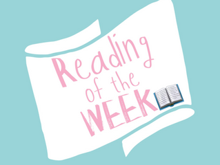 Wedding Reading of the week- Week One