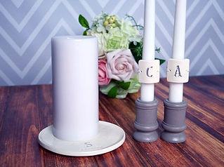 unity candle, wedding