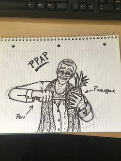 Pen Pineapple Apple Pen
