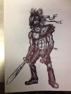 Injured Warrior