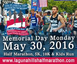 Laguna Hills Half Marathon 2016