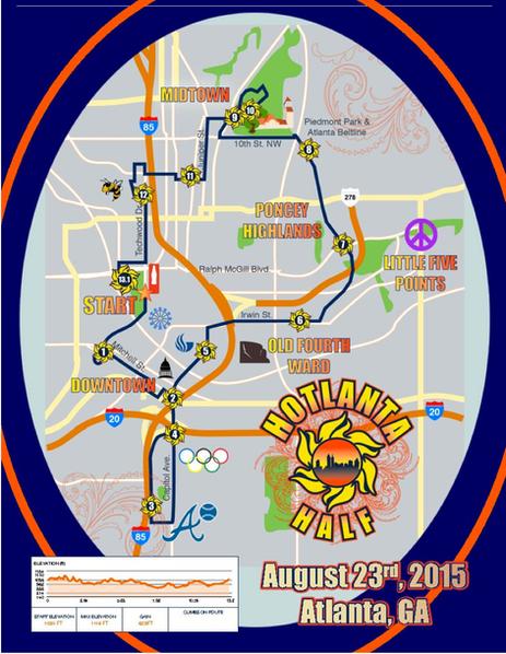 Discount to Hotlanta Half Marathon - Atlanta, Georgia