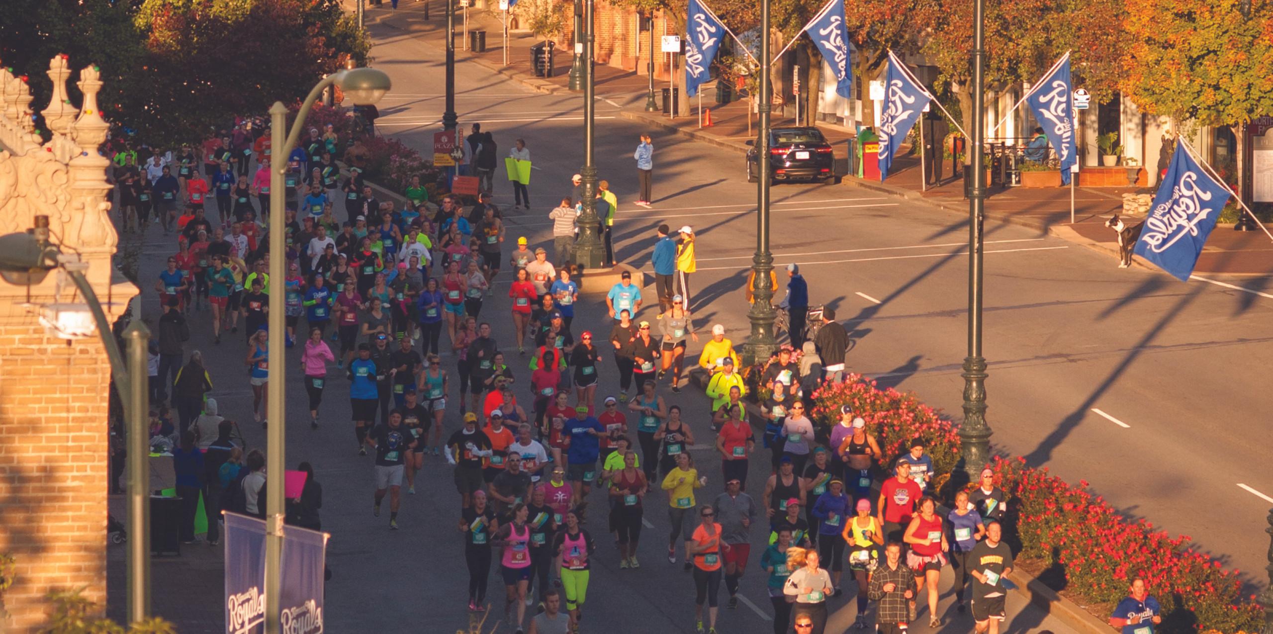 KC marathon and half marathon