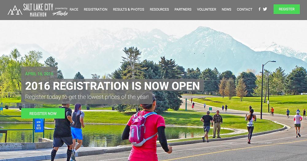 2016 Salt Lake City Marathon and Half Marathon Discount