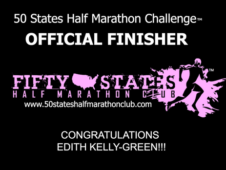 Edith Kelly-Green (Memphis, Tennessee) 50 States Endurance Challenge Finisher