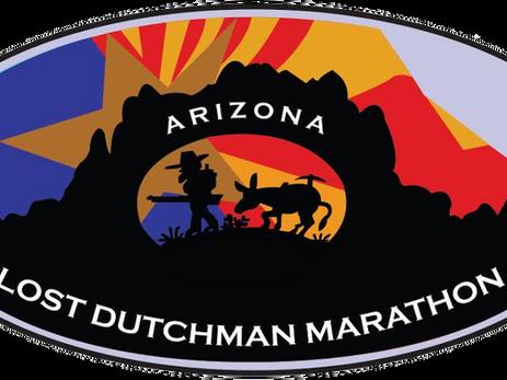 Lost Dutchman Half Marathon Discount & Marathon - Arizona