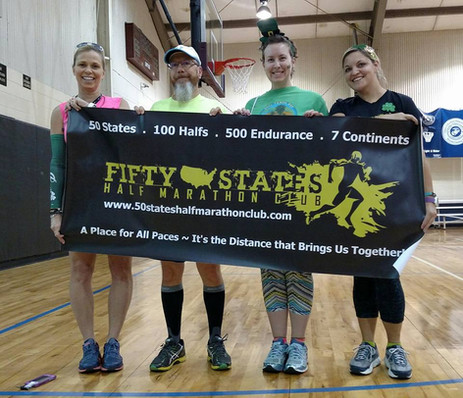 50 States Half Marathon Club Members in Seneca, South Carolina