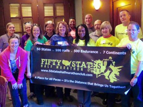 50 States Half Marathon Club Members - Tobacco Road Half Marathon Weekend