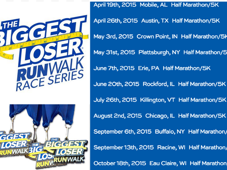 25% Discount to The Biggest Loser Run/Walk Events