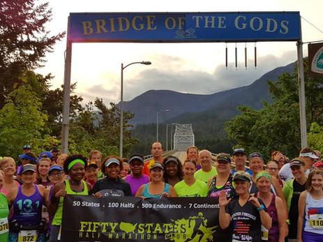 Over 800 Fun Filled 50 States Half Marathon Club 2018 Member Photos