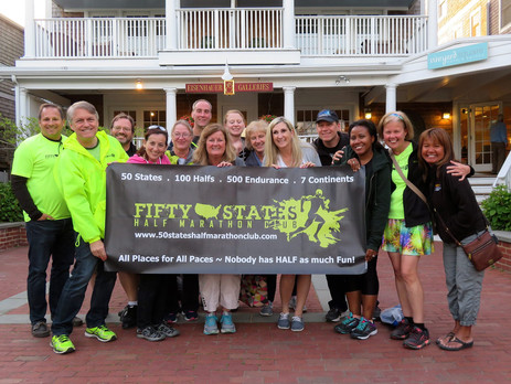 50 States Half Marathon Club Members Kick Off the Inaugural Martha's Vineyard Half Marathon