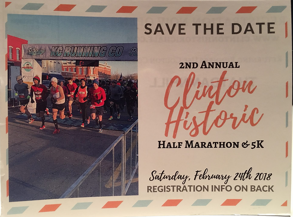 Clinton Historic Half Marathon 2018