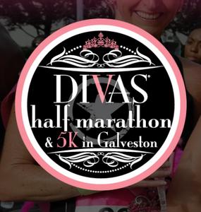 Divas half marathon Galveston
