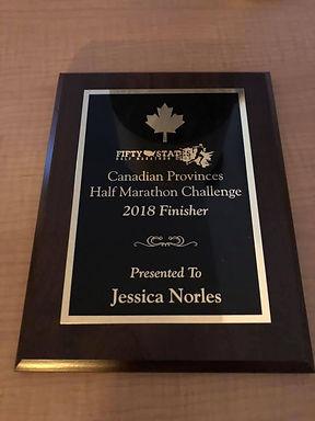 Canada Provinces Half Marathon Challenge