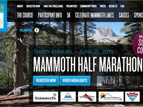 Discount to Mammoth Half Marathon - Mammoth Lakes, California