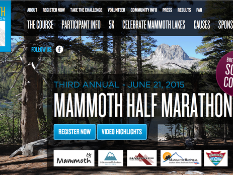 Discount to Mammoth Half Marathon - Mammoth Lakes, California