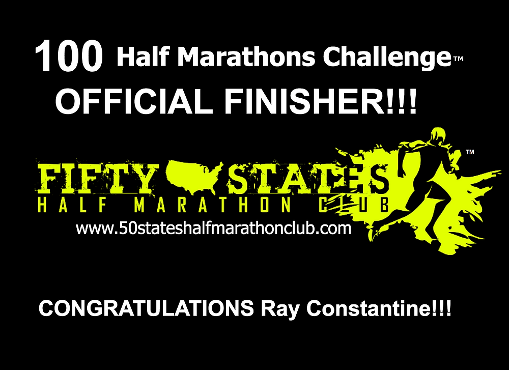 100 half marathons challenge
