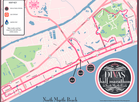 Divas Half Marathon North Myrtle Beach 2018 Discount - South Carolina