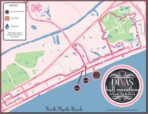 Divas Half marathon & 5k North Myrtle Beach