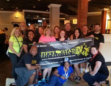 50 States Half Marathon Club Members - Rock'n'roll Dallas Half Marathon Weekend