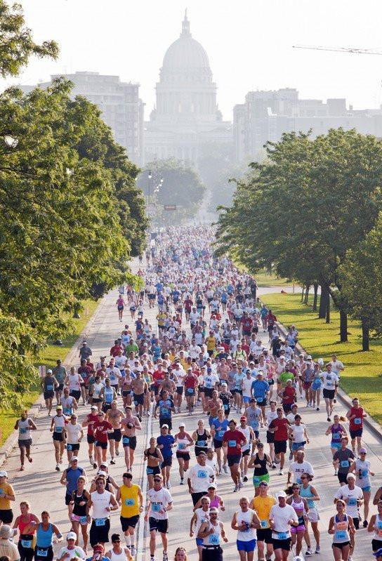 Madison Marathon & Madison Half Marathon Wisconsin