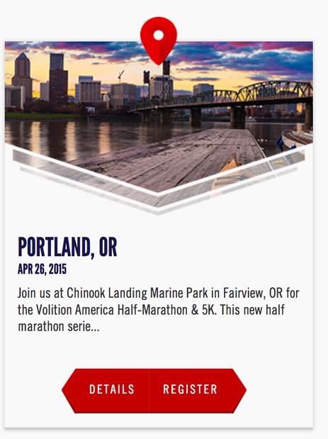 Discount to Volition America Portland Half Marathon - Fairview, Oregon