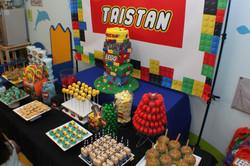 Lego Theme Dessert Buffet