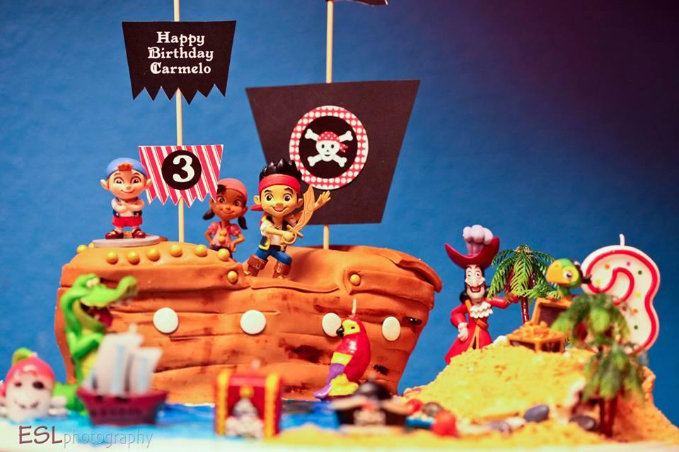 Pirate Theme Cake