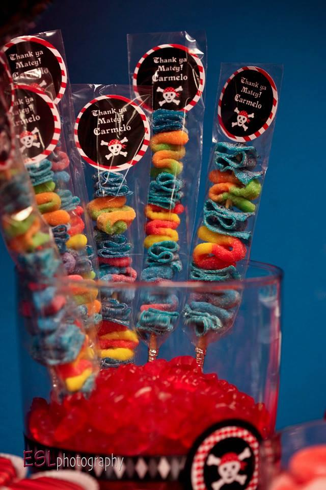 Pirate Theme Gummies