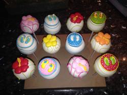 Summer Theme Cakepops