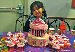 Princess Cupcake Theme