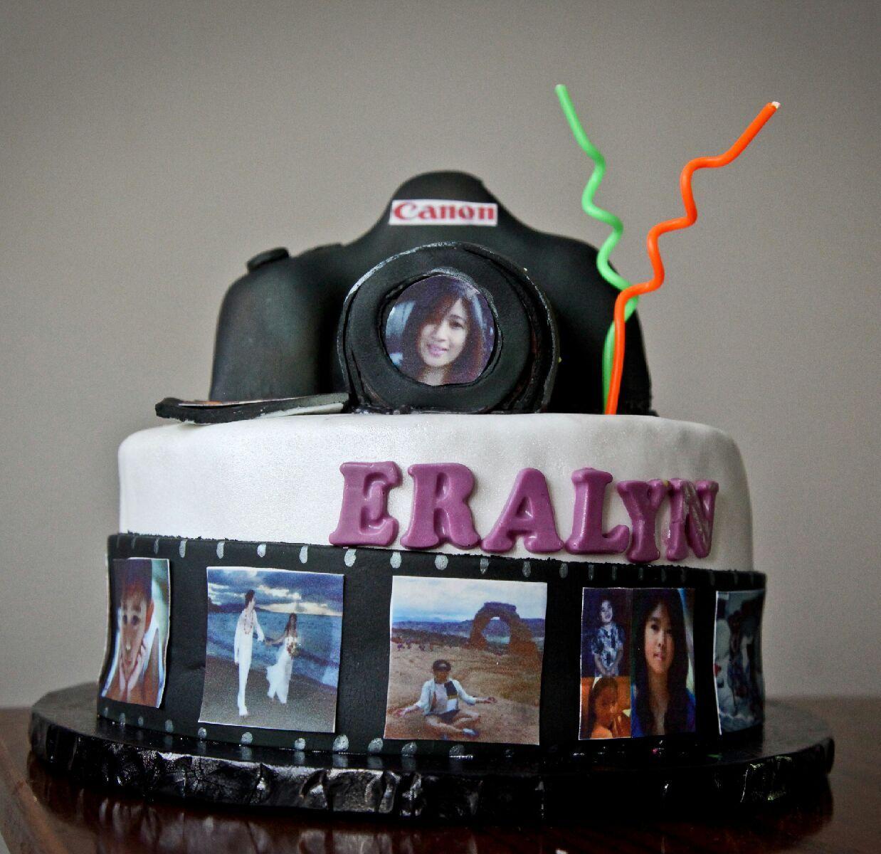 Photography Theme Cake